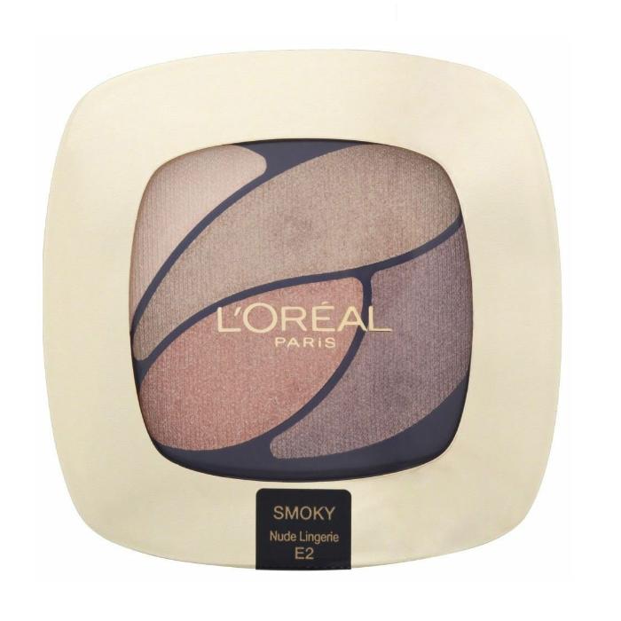 Loreal Color Riche Eyeshadow Quad - E2 Nude Lingerie