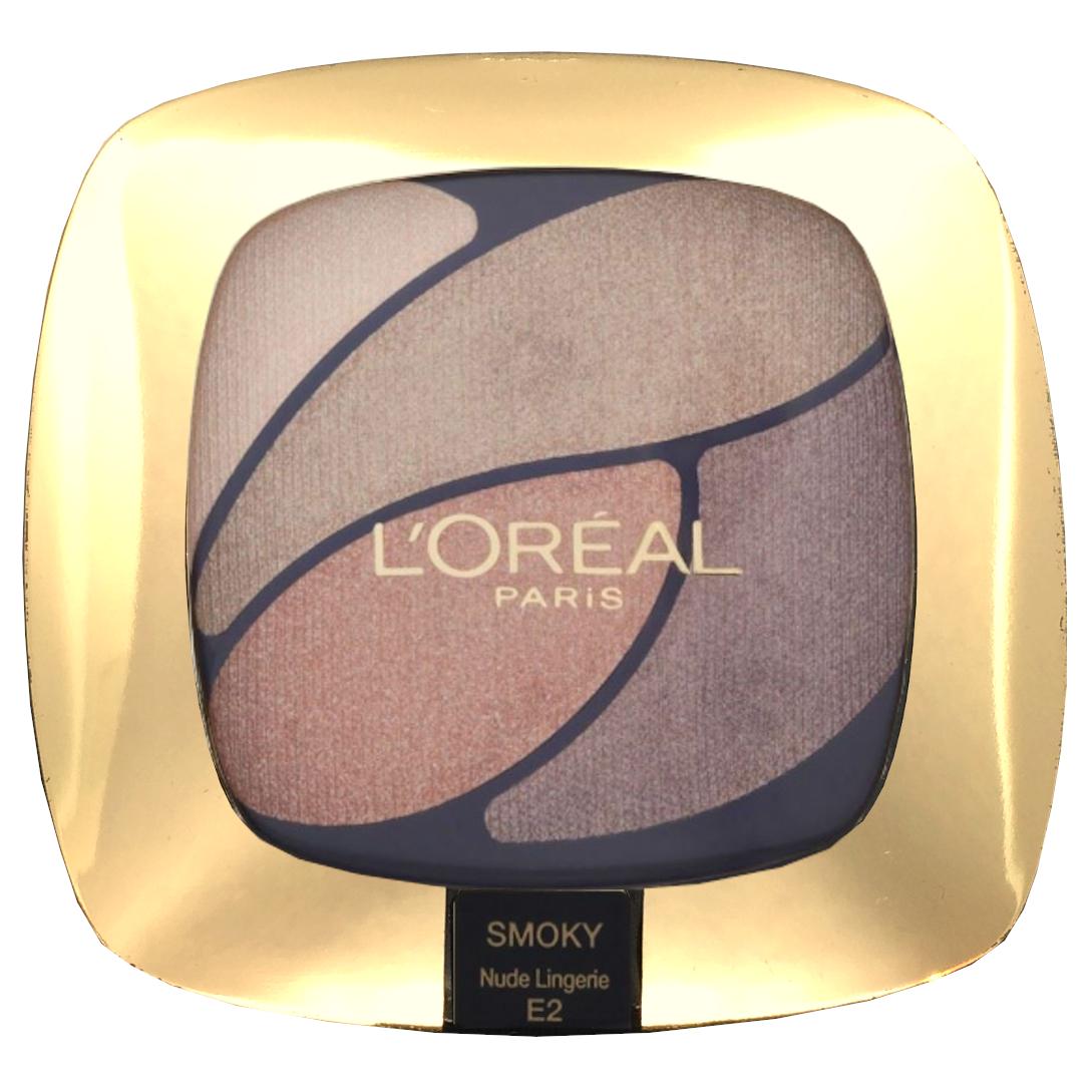 LOreal Color Riche Eyeshadow Quad Nude Lingerie E2